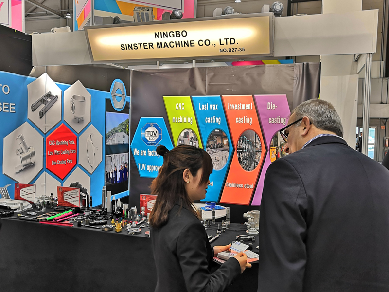 SYLUE is very popular in Hannover Messe 2019, a lot of famous companies visit us