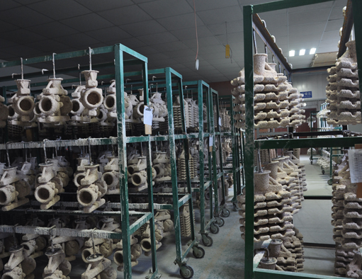 Investment Casting Drying Wax Shell