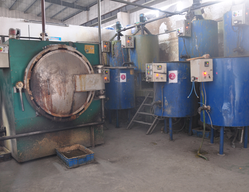 Investment Casting Removing Wax