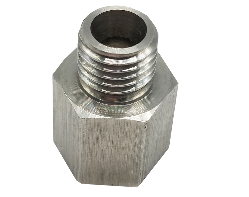 OEM Stainless Steel Cnc Machined Hex Bushing