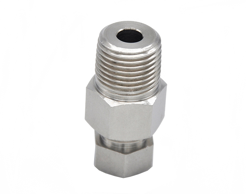 Precision Stainless Steel Water Connector Cnc Turning