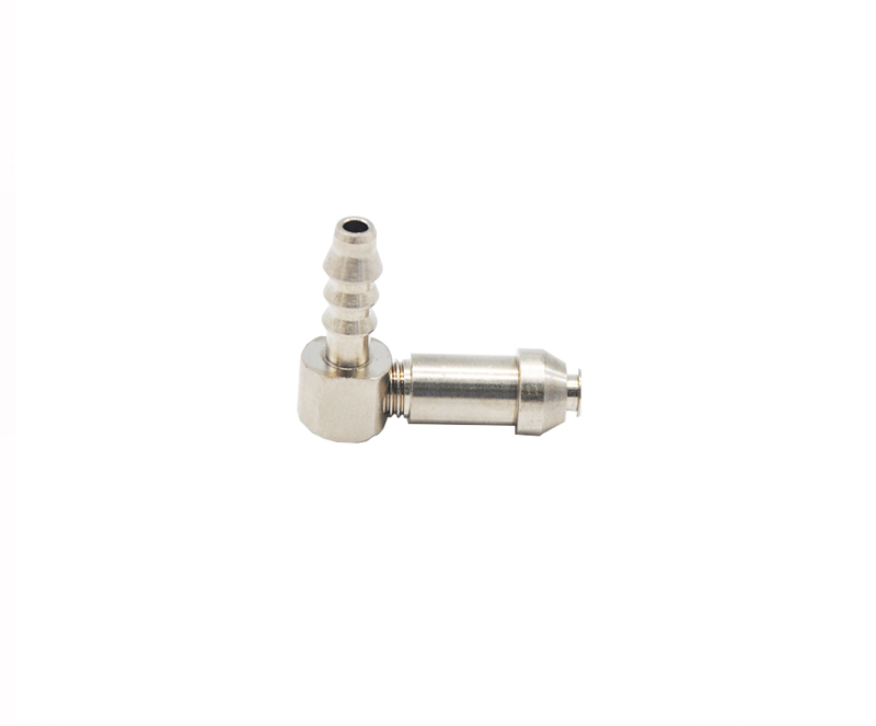 Tank Connector with Left Hand Thread and Internal Thread