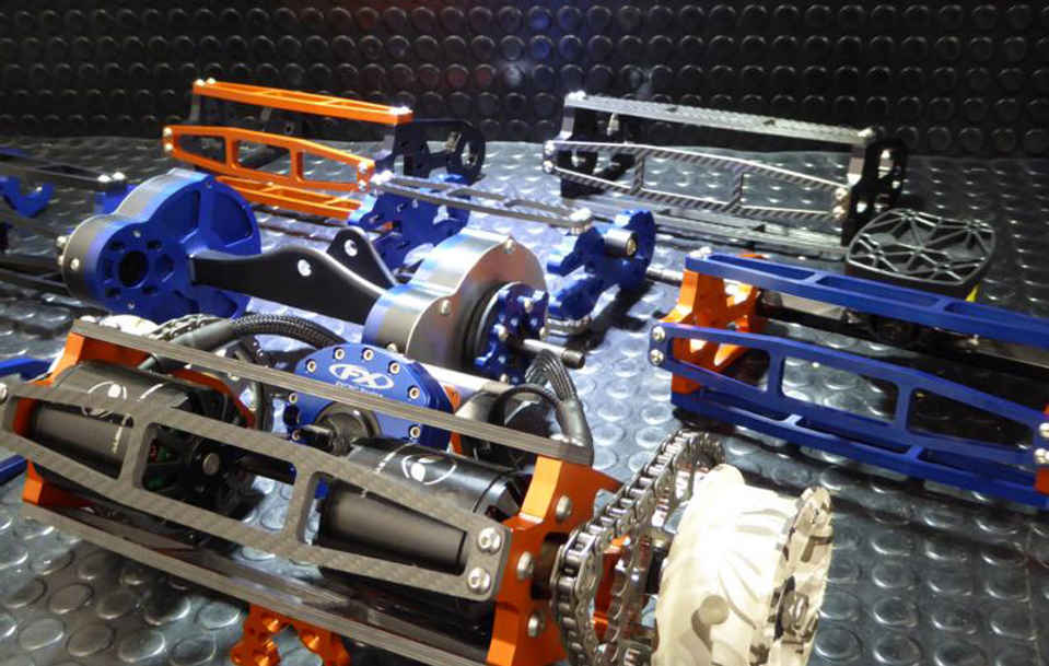 Sylue Produce Electric Vehicle Parts for E-Toxx