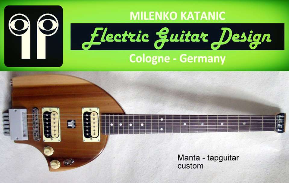 Electric Guitar Design Germany Has a Cooperation with Sylue