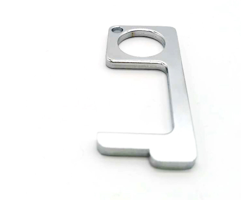 No Touch Brass Door Opener Key