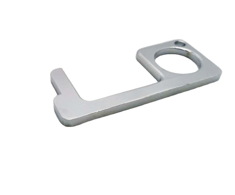 Brass No Touch Door Opener/Key Press