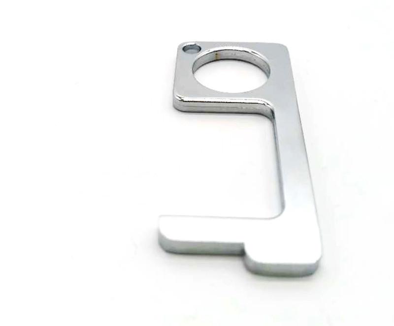 Keyring No Touch Hygigiene Hand Kechain Antimicrobial Hand Door Claw